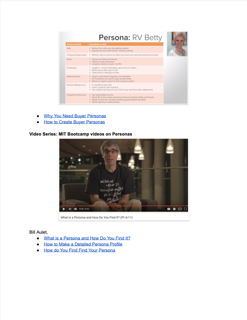 Buyer Persona Lesson Plan - 4
