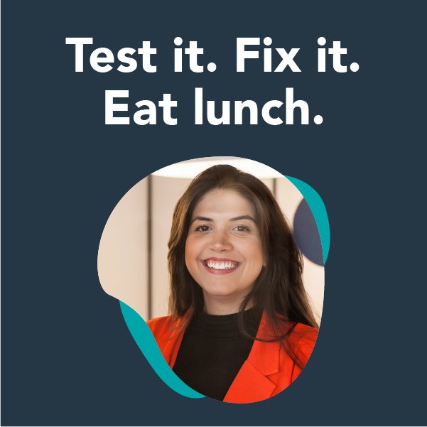 test it and fix it