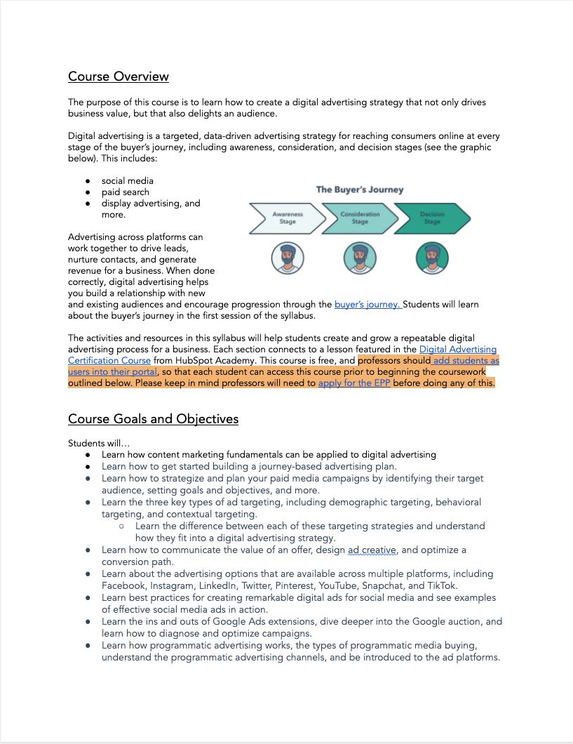 Digital Advertising Syllabus - 1