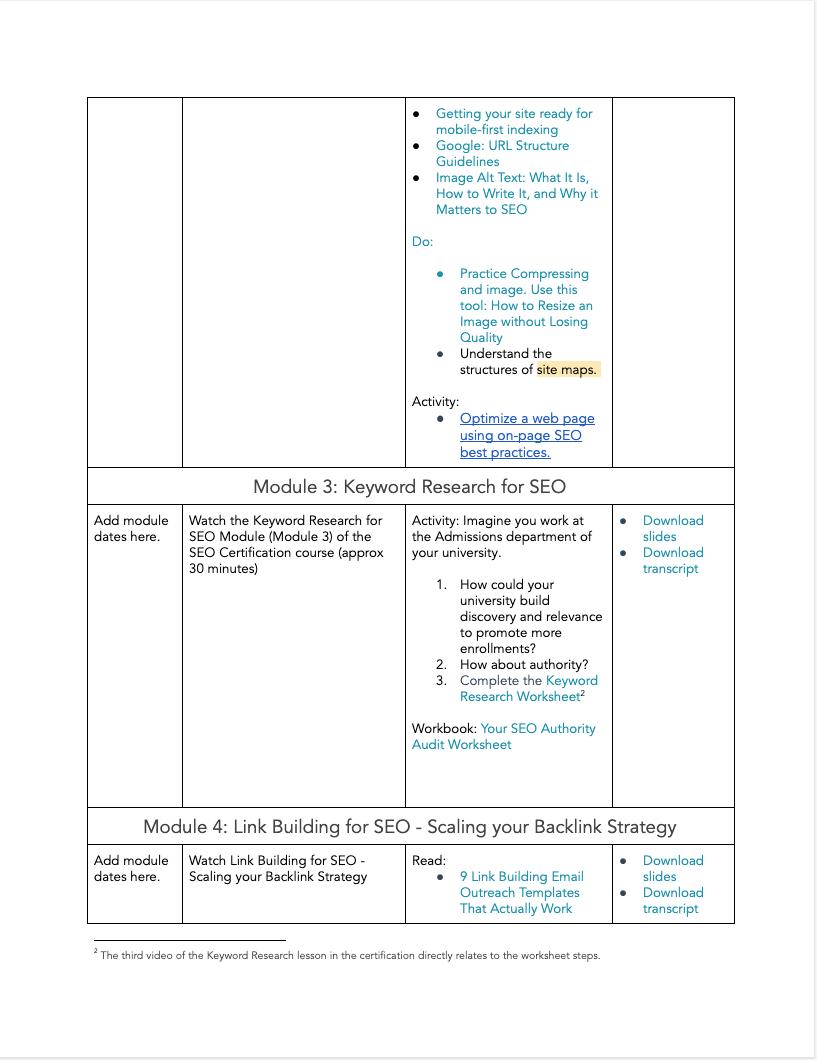 SEO Certification - 4
