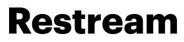 Restream logo